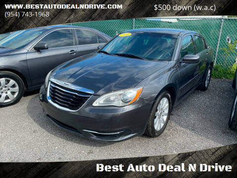 2014 Chrysler 200 for sale at Best Auto Deal N Drive in Hollywood FL