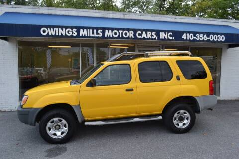 2001 Nissan Xterra for sale at Owings Mills Motor Cars in Owings Mills MD