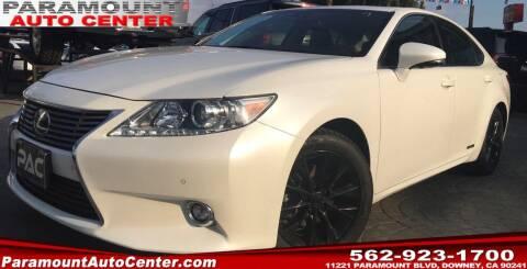 2015 Lexus ES 300h for sale at PARAMOUNT AUTO CENTER in Downey CA