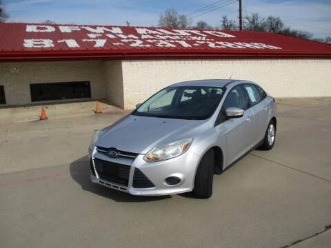 2013 Ford Focus for sale at DFW Auto Leader in Lake Worth TX