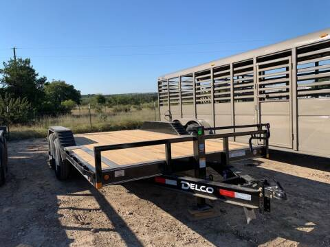 """2021 DELCO  - Drive Over Fender 102"""" for sale at LJD Sales in Lampasas TX"""