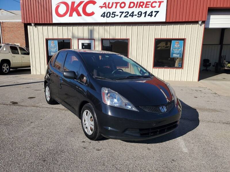 2009 Honda Fit for sale at OKC Auto Direct, LLC in Oklahoma City OK