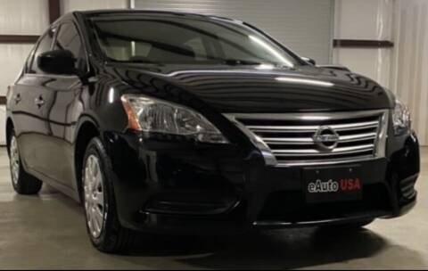 2015 Nissan Sentra for sale at eAuto USA in New Braunfels TX