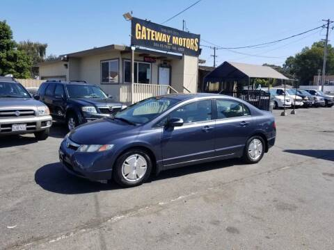 2007 Honda Civic for sale at Gateway Motors in Hayward CA