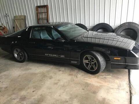 1985 Chevrolet Camaro for sale at Darnell Auto Sales LLC in Poplar Bluff MO