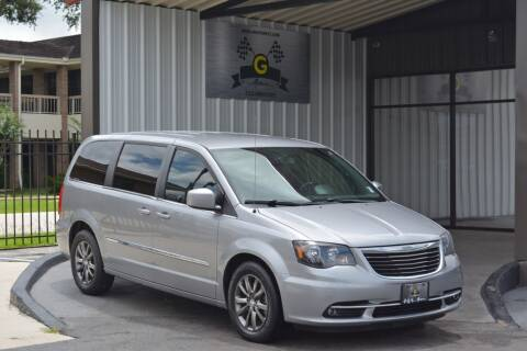 2015 Chrysler Town and Country for sale at G MOTORS in Houston TX