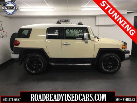2009 Toyota FJ Cruiser for sale at Road Ready Used Cars in Ansonia CT