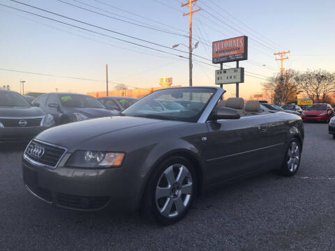 2006 Audi A4 for sale at Autohaus of Greensboro in Greensboro NC