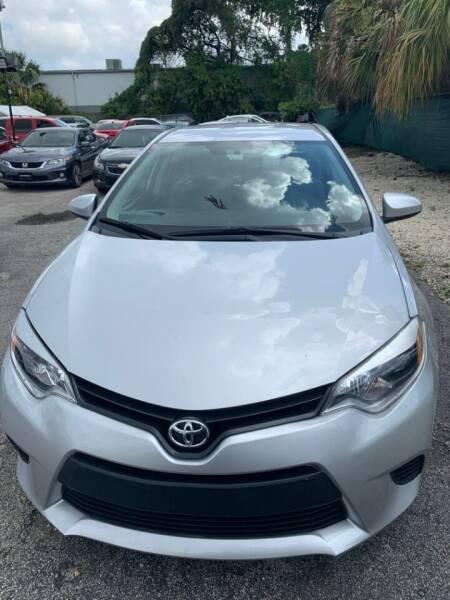 2014 Toyota Corolla for sale at Roadmaster Auto Sales in Pompano Beach FL