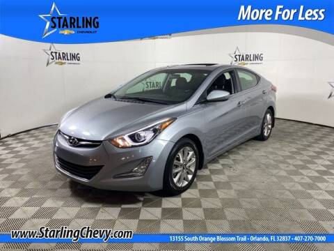 2015 Hyundai Elantra for sale at Pedro @ Starling Chevrolet in Orlando FL