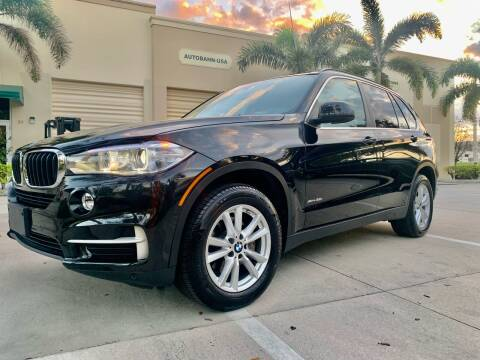 2015 BMW X5 for sale at AUTOSPORT MOTORS in Lake Park FL