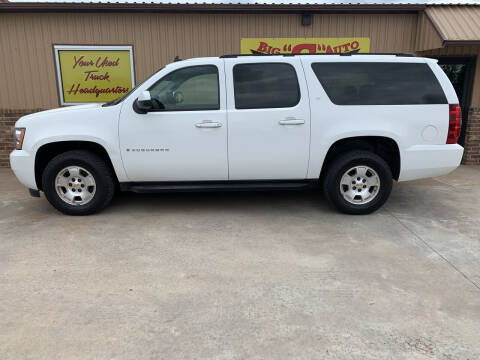 2008 Chevrolet Suburban for sale at BIG 'S' AUTO & TRACTOR SALES in Blanchard OK