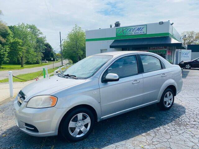 2007 Chevrolet Aveo for sale at Extreme Auto Sales in Clinton Township MI