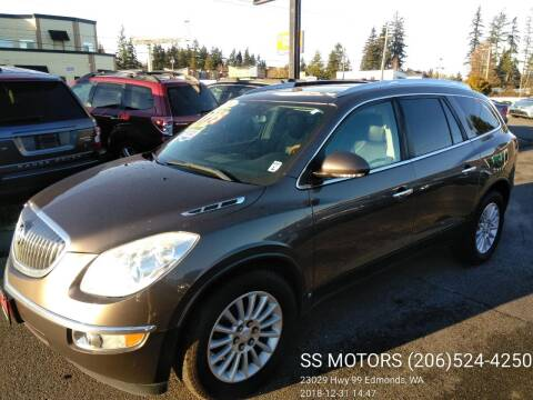 2008 Buick Enclave for sale at SS MOTORS LLC in Edmonds WA