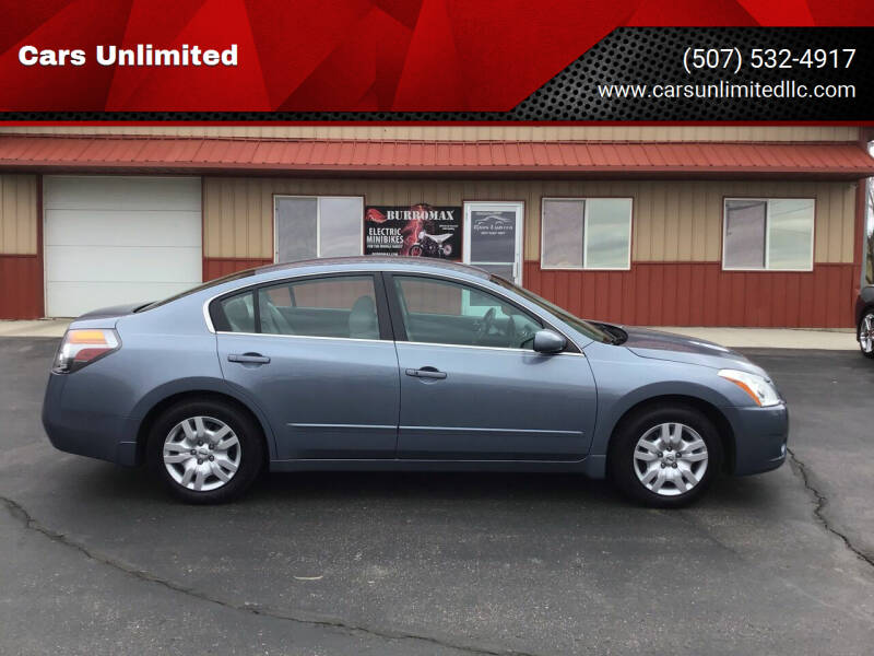 2012 Nissan Altima for sale at Cars Unlimited in Marshall MN
