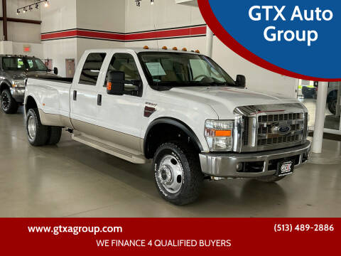 2008 Ford F-350 Super Duty for sale at GTX Auto Group in West Chester OH