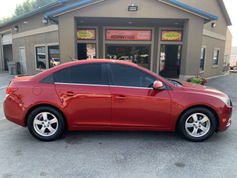 2013 Chevrolet Cruze for sale at Advantage Auto Sales in Garden City ID