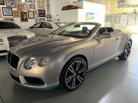 2014 Bentley Continental for sale at VA Leasing Corporation in Doral FL