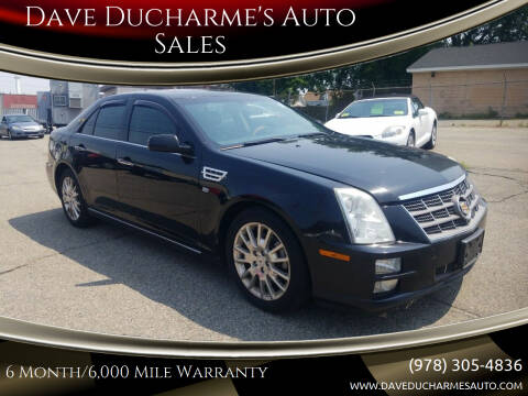 2010 Cadillac STS for sale at Dave Ducharme's Auto Sales in Lowell MA
