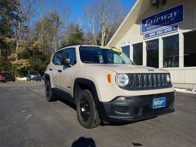 2015 Jeep Renegade for sale at Fairway Auto Sales in Rochester NH