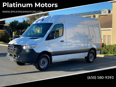 2020 Mercedes-Benz Sprinter Cargo for sale at Platinum Motors in San Bruno CA