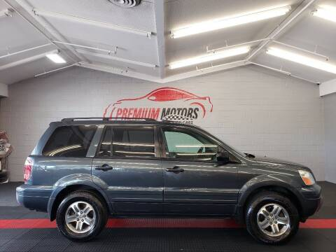 2005 Honda Pilot for sale at Premium Motors in Villa Park IL