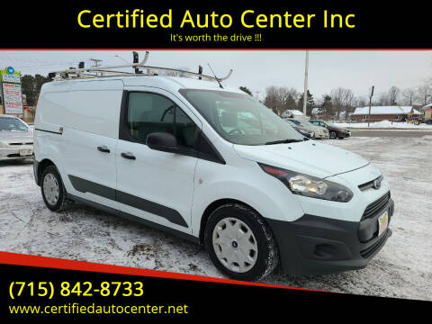2017 Ford Transit Connect Cargo for sale at Certified Auto Center Inc in Wausau WI
