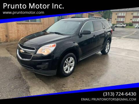2011 Chevrolet Equinox for sale at Prunto Motor Inc. in Dearborn MI