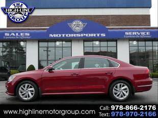 2018 Volkswagen Passat for sale at Highline Group Motorsports in Lowell MA