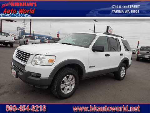 2006 Ford Explorer for sale at Bruce Kirkham Auto World in Yakima WA