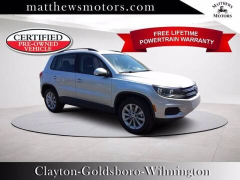 2018 Volkswagen Tiguan Limited for sale at Auto Finance of Raleigh in Raleigh NC