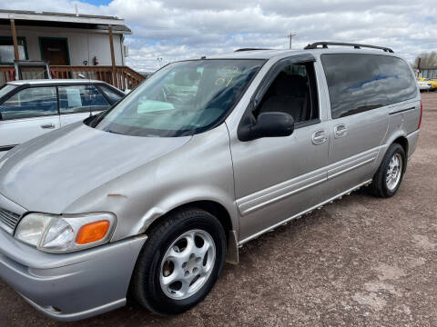 2004 Oldsmobile Silhouette for sale at PYRAMID MOTORS - Fountain Lot in Fountain CO
