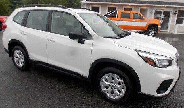 2020 Subaru Forester for sale at Bachettis Auto Sales in Sheffield MA