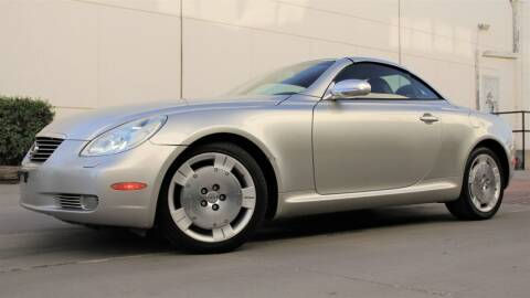 2002 Lexus SC 430 for sale at New City Auto - Retail Inventory in South El Monte CA