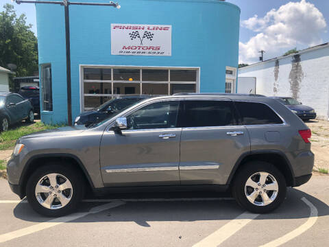 2012 Jeep Grand Cherokee for sale at Finish Line Motors in Tulsa OK