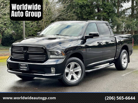 2013 RAM Ram Pickup 1500 for sale at Worldwide Auto Group in Auburn WA