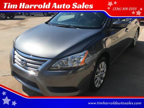 2015 Nissan Sentra for sale at Tim Harrold Auto Sales in Wilkesboro NC