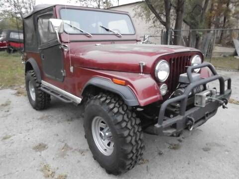 1979 Jeep CJ-7 for sale at Cycle M in Machesney Park IL
