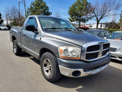 2006 Dodge Ram Pickup 1500 for sale at M & M Auto Brokers in Chantilly VA