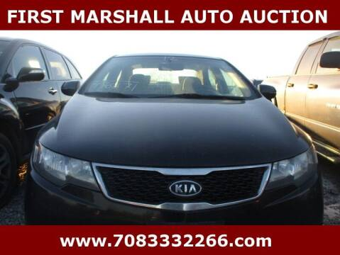 2012 Kia Forte for sale at First Marshall Auto Auction in Harvey IL