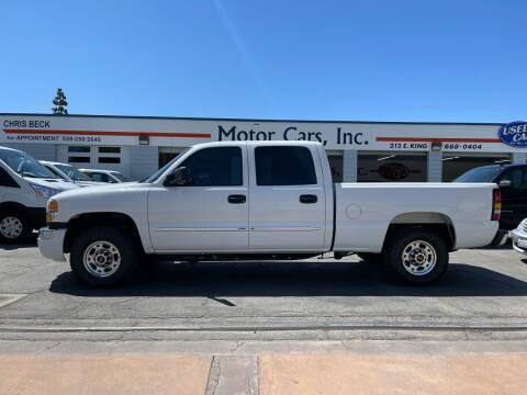 2007 GMC Sierra 2500HD Classic for sale at MOTOR CARS INC in Tulare CA
