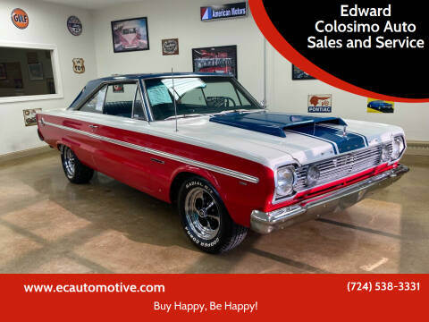 1966 Plymouth Satellite for sale at Edward Colosimo Auto Sales and Service in Evans City PA