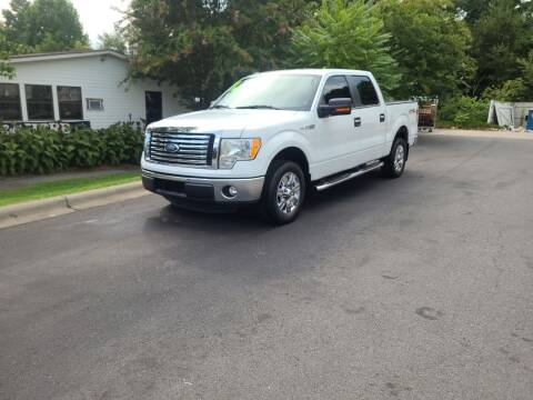 2011 Ford F-150 for sale at TR MOTORS in Gastonia NC