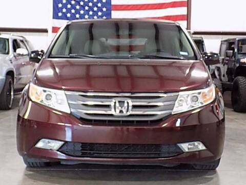 2012 Honda Odyssey for sale at Texas Motor Sport in Houston TX
