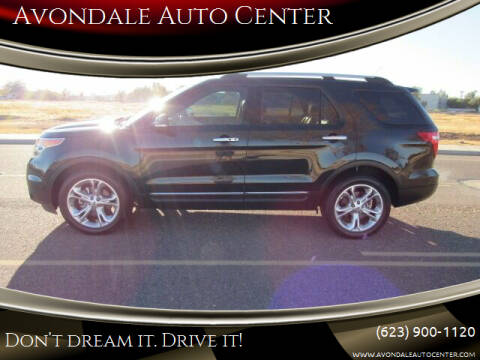 2013 Ford Explorer for sale at Avondale Auto Center in Avondale AZ