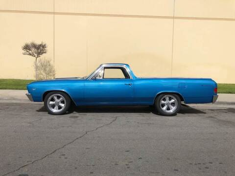 1967 Chevrolet El Camino for sale at HIGH-LINE MOTOR SPORTS in Brea CA