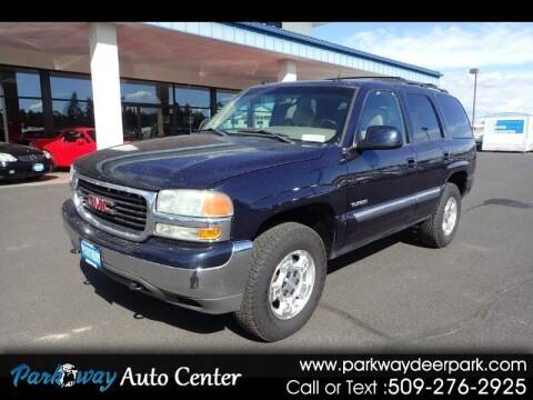 2004 GMC Yukon for sale at PARKWAY AUTO CENTER AND RV in Deer Park WA