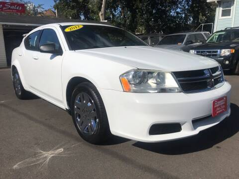 2012 Dodge Avenger for sale at Alexander Antkowiak Auto Sales in Hatboro PA