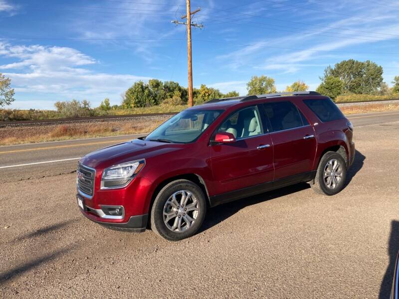 2015 GMC Acadia for sale at American Garage in Chinook MT