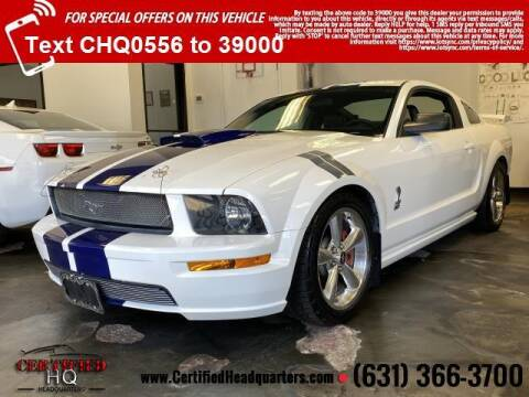 2007 Ford Mustang for sale at CERTIFIED HEADQUARTERS in St James NY